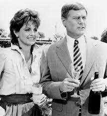 Dallas - Larry Hagman aka JR Ewing with Linda Gray aka Sue Ellen Ewing #RIPJR