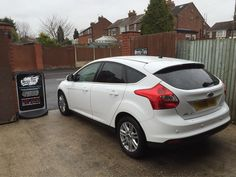 2008 Ford Focus in this morning for 18% Carbon tints to the rear.