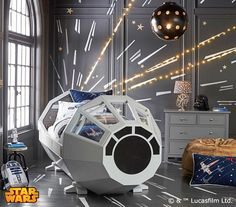 Pottery Barn's $4,000 Millennium Falcon Bed