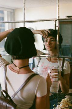 "stephsegarra: "" 'Mathilda' for Sticks and Stones Agency Photography & Styling: Steph Segarra Makeup: Ashley Gonzalez Model: Cenit Nadir """