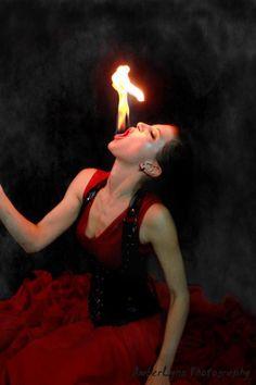 SaFire Fire Eating Fire Eater