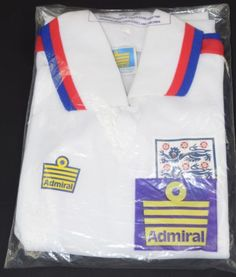 1974-1980 #england #admiral home #football shirt (size sb) - bnib,  View more on the LINK: http://www.zeppy.io/product/gb/2/152236983620/