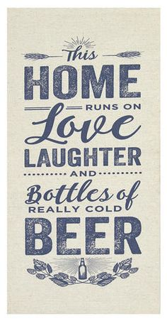 Stratton Home Decor 10 Home Love And Beer Wall Art Decorative Wall Art Set Off White