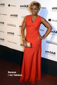 Fabulously Spotted: Mary J. Blige Wearing Carlos Miele Wearing - amfAR's Inspiration Gala Sao Paulo - http://www.becauseiamfabulous.com/2014/04/mary-j-blige-wearing-carlos-miele-wearing-amfars-inspiration-gala-sao-paulo/
