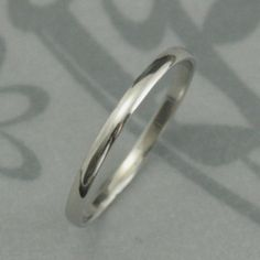 Yes, I work in Platinum too! And now were offering our most popular Skinny Minnie Plain Jane ring in solid 950 Platinum. Measuring a slim 1.5mm wide by .75mm thick, its the perfect minimal wedding band or stacking ring. Your ring will be hand made to size using traditional jewelry making techniques and given either a meticulous high polished finish or a soft brushed finish.  Platinum is one of the most difficult metals to work in. I have put my 15+ years of experience into branching out into…