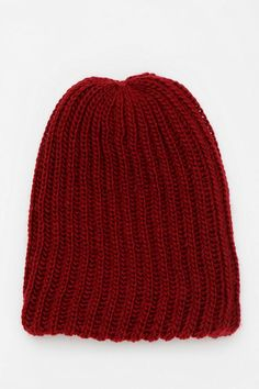 a6c196e85ca Extra warm and cozy beanie in a soft rib-knit -- a cold weather