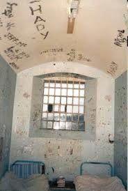 cell in Barlinnie prison