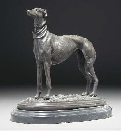 After Pierre Jules Mene  Greyhounds
