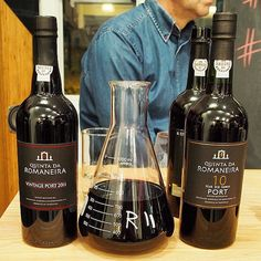 Quinta Da Romaneira put in a strong showing at last night's Great Port Debate! Their 10 year Tawny in particular is the kind of Port that makes me believe in the resurgence of fortifieds!