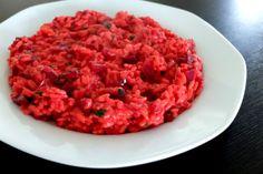 Cviklové risotto Risotto, Bruschetta, Ethnic Recipes, Food, Recipes, Essen, Meals, Yemek, Eten