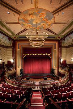 Grand Opera House, Oshkosh WI by Oshkosh BID. Keep an eye out for events here, it's beautiful inside! http://grandoperahouse.org
