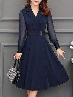 Buy Dresses - Online Shop Women\'s Fashion Dresses for Sale Modest Dresses, Day Dresses, Dresses Online, Casual Dresses, Summer Dresses, All Star Branco, Elegant Party Dresses, Vestidos Vintage, Dress Silhouette