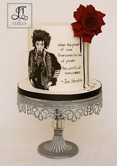 Power of love - Cakes against Violence collab by JT Cakes