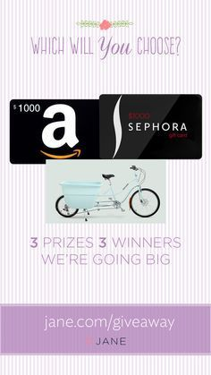 I entered the Jane.com Mother's Day #Giveaway for a chance to win $1000!!