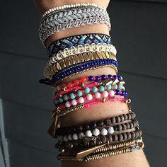 Difficile de choisir parmi tous ces bracelets !! #armparty #stelladotstyle #jotd… Acheter : http://www.stelladot.fr/sites/sophieandfashion