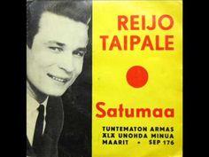 ▶ Laulu: Reijo Taipale - Satumaa (orig 1962) (YouTube) Helsinki, Tango, My Childhood, Finland, Singing, Music, Youtube, Muziek, Music Activities