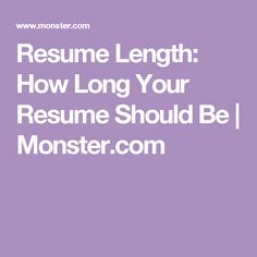 job seekers often wonder about resume length get guidance on when to send a one page two page or three page resume - How To Write A Resume Summary That Gets Interviews