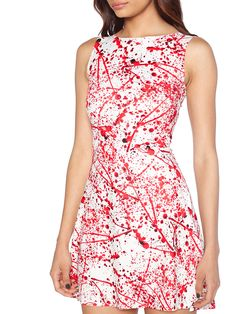 Blood Splatter Play Dress (WW $85AUD / US $68USD) by Black Milk Clothing