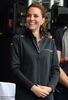 Duchess Kate: William and Kate Return to Portsmouth for America's Cup World Series & Azuni Giveaway!