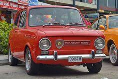 1965 #Fiat 850 #Abarth #italiandesign
