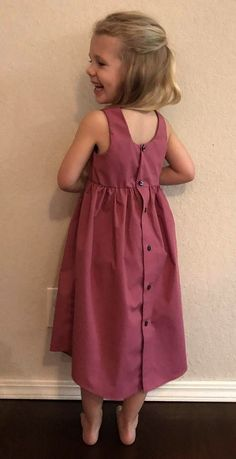 Custom Mens Dress Shirt Into Little Girls Dress / Upcycled Baby Dress From Dads Shirt / Fathers Day Gift / Christmas gift/ Birthday gift Upcycle TØJ Papa Shirts, Old Shirts, Dad To Be Shirts, Diy Dress, Dress Outfits, Girl Outfits, Shirt Dress, Dress Sewing, Old Dresses
