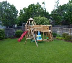 awesome play structure