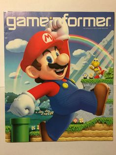 Game Informer Magazine 234 October 2012 New Super Mario Bros U Super Mario Bros, Super Mario Brothers, Video Game News, Video Games, Video Game Magazines, Game Informer, State Game, Now Magazine, Wii U
