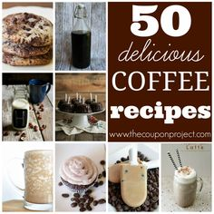 50 Delicious Coffee Recipes