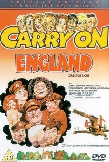 Carry On England (1976)  Movie Poster https://www.youtube.com/user/PopcornCinemaShow