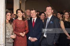 News Photo : Denmark's Princess Marie, Crown Princess Mary,...