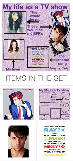 """My Life as a TV Show"" by annabethpercy ❤ liked on Polyvore featuring art"