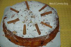 Torta mele e mirtilli