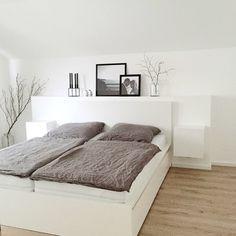 Neues Schlafzimmer #interior #einrichtung #wohnen #living #dekoration #decoration #ideen #ideas #schlafzimmer #bedroom #modern #mordernesschlafzimmer Foto: winterliebe7