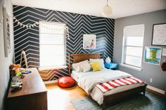 Axel's Room: Subtle & Affordable Changes To Grow Up a Nursery