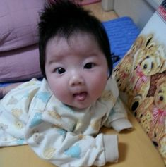 Korean Babies, Asian Babies, Baby Cosplay, Ulzzang Kids, Baby Carriage, Young Ones, Father And Son, Baby Photos, Babys
