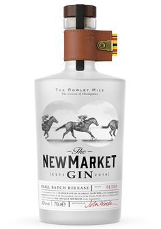 Newmarket Gin Launches With Race Motif | LUXUO