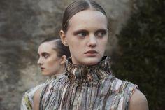Hair & Makeup: Sigrid Volders @ Angelique Hoorn Management Job: Vogue.it - H&M Design Award Photo: Cecile Bortoletti