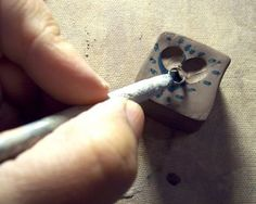 stamp tutorial from LaPella Pottery