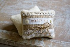 Romantic little keepsakes pieces by mixed media and textile artist Jessamyn of Homespun Ir. New Baby Products, Pure Products, Ring Pillow Wedding, Baby Keepsake, Wedding Proposals, Quilted Pillow, Mother Of Pearl Buttons, Textile Artists, Wool Felt