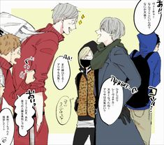 I'd like to believe Lev is Victor and Yuri's love child. Cross-over