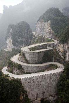 Spiral by GavinZ, via Flickr I want to ride my bike on this road.