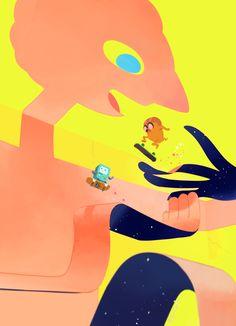 Adventure Time - From JPN/Ryama's art リャマの落書き場/all fan art Marceline, Art Adventure Time, Adventure Time Wallpaper, Adventure Time Princesses, Jake Le Chien, Cartoon Network, Teen Titans, Adveture Time, Land Of Ooo