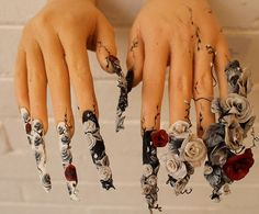 100 Amazing Nail Art - I KNOW you're asking the same question I am...