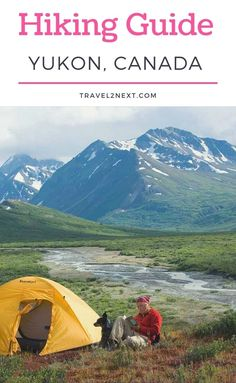 A Guide To Hiking In The Yukon. Parks Canada has five and nine-day guided hiking tours, which includes meals, camping equipment, national park fees and the flight from Inuvik. #travel #yukon #camping #hikes #northamerica #canada #hiking Hiking Guide, Hiking Tours, Go Hiking, National Park Fees, National Parks, Beautiful Places To Travel, Cool Places To Visit, Canada Travel, Ski Canada