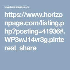 Horizonpage is an online site for personals ads.Post free unlimited ads and find services,cars, jobs, houses and apartments for rent, pets for sell onHorizonpage Classifieds.