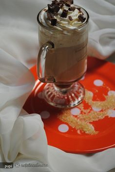 Reteta Irish Coffee-in Stilul Meu Irish Coffee, Beverages, Drinks, Smoothies, Deserts, Cocktails, Pudding, Yummy Food, Espresso