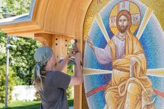 Orthodox Icons, Custom Woodworking, Finland, Home Appliances, Projects, Design, House Appliances, Log Projects, Blue Prints