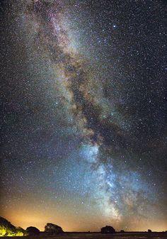 The Milky Way. | Flickr - Guy Wells