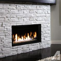 """Contemporary Gas Fireplace Designs 