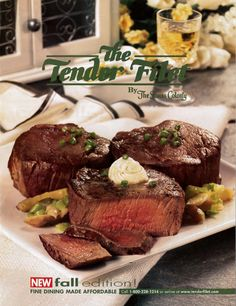 Tender Filet cover for Fall 2003.